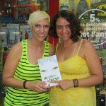 Con Juana, amiga y lectora.