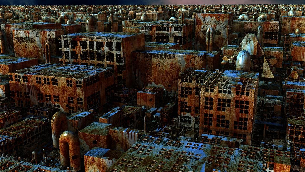 Ciudad apocalíptica. Autor: Carroll MacDonald