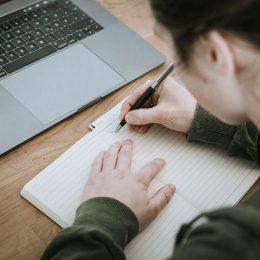 Escribe como terapia