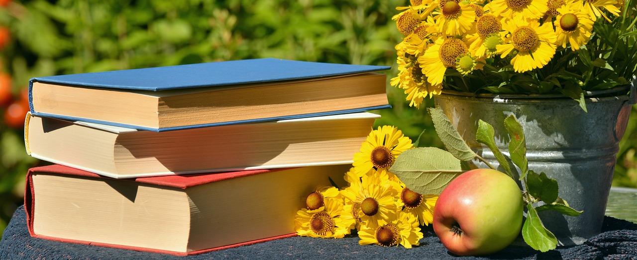 Buen tiempo y buenos libros.